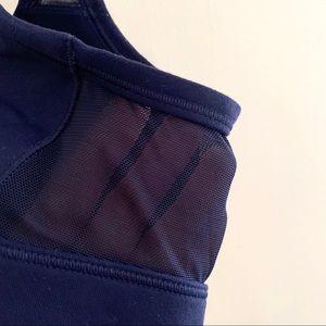 aerie Intimates & Sleepwear - Aerie Navy Mesh Zip Front Sports Bra